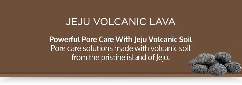 Jeju Volcanic Lava Series Tab Banner