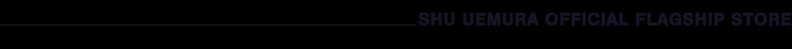 Shu Uemura Flagship Description Banner