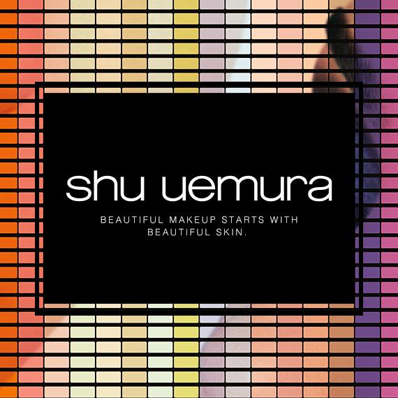 Shu Uemura Flagship Top Banner - Official