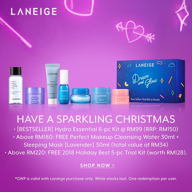 Dec 18: Amore Beautiful Campaign - Laneige