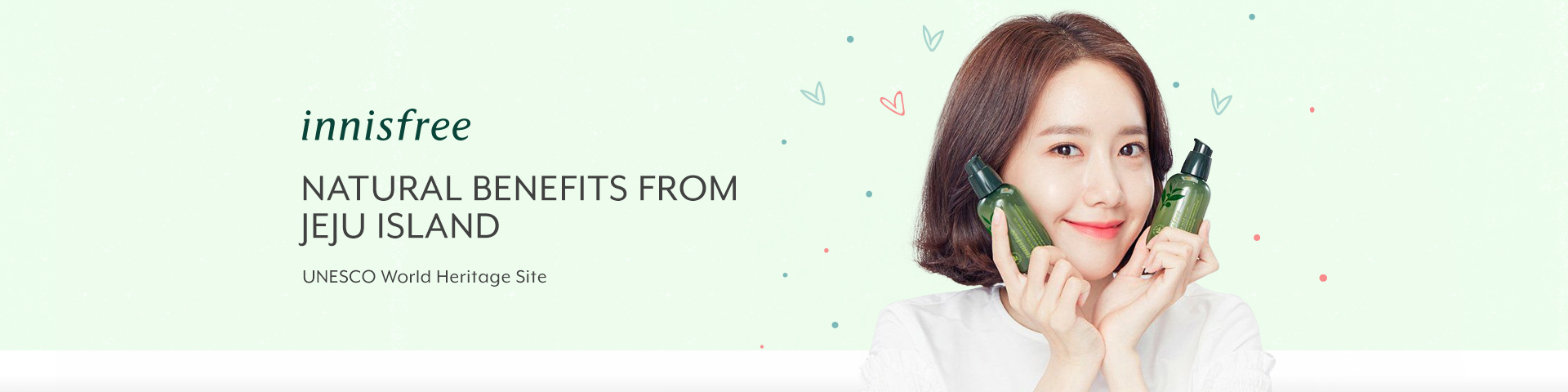 Innisfree Thematic Banner