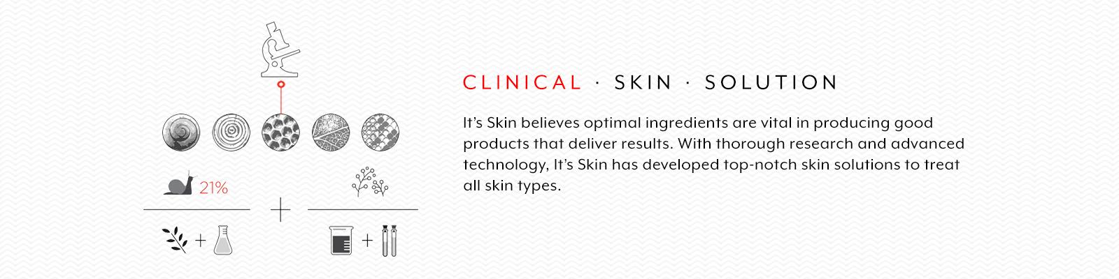 It's Skin Brand Philosophy