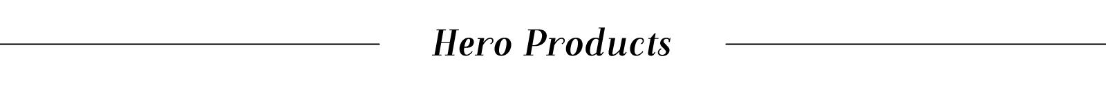 Kose Hero Product Title