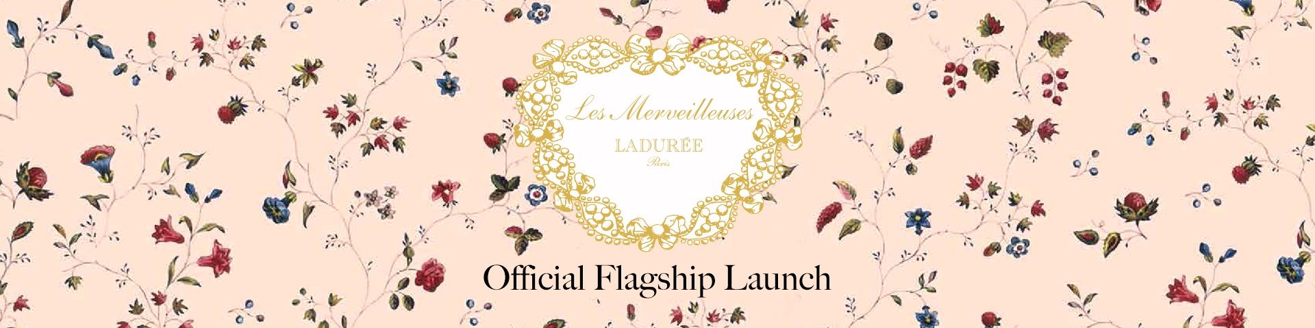 Laduree Flagship Top Banner
