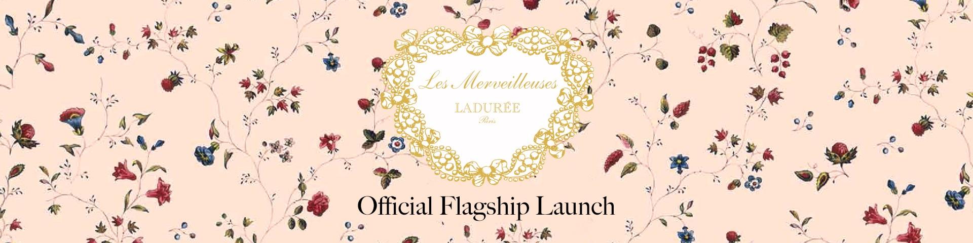Laduree Flagship Top Banner