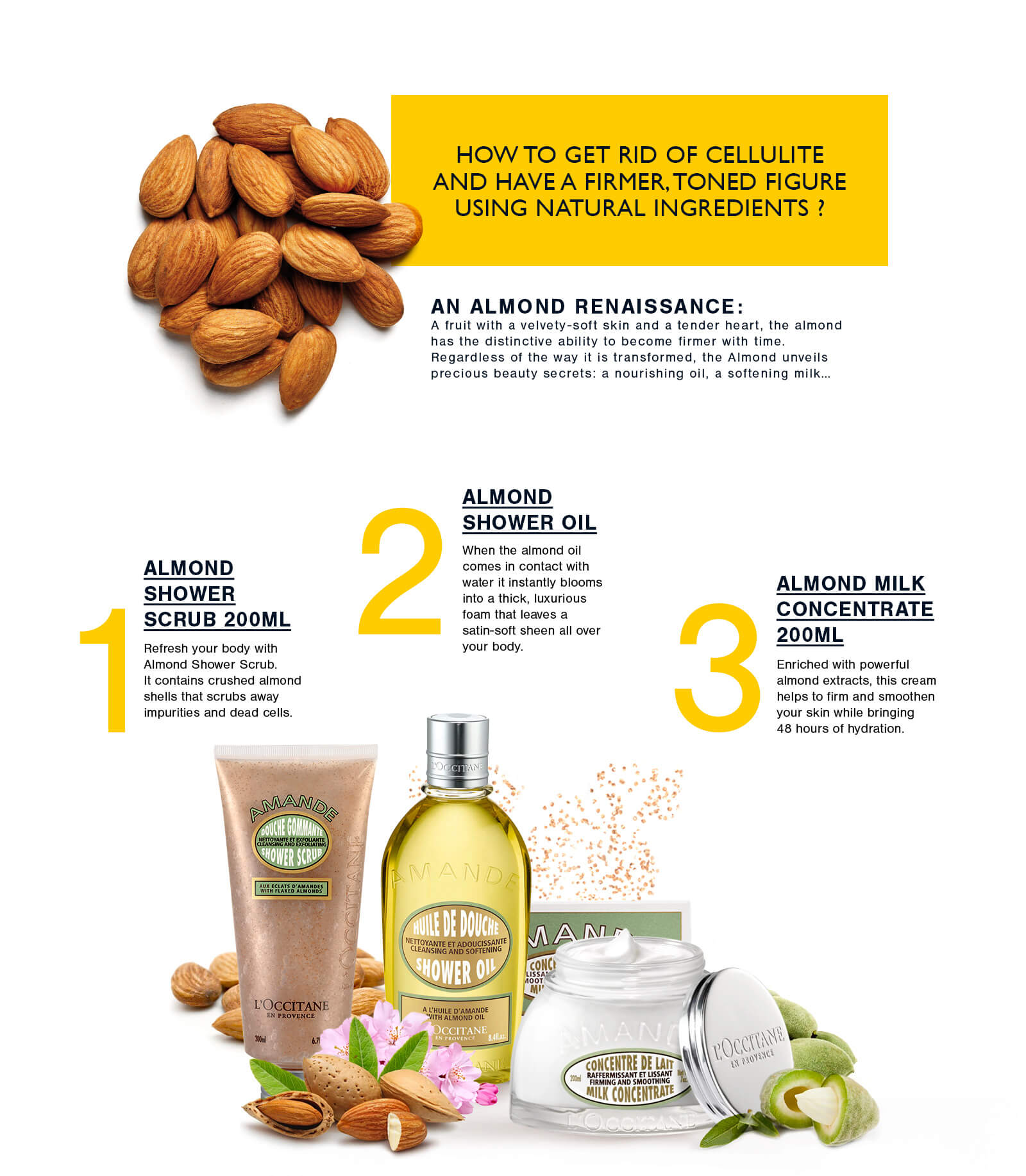 L'OCCITANE Body Range