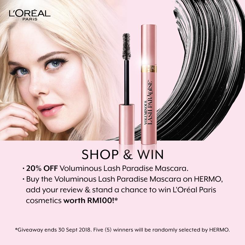 L'Oreal Paris Shop & Win