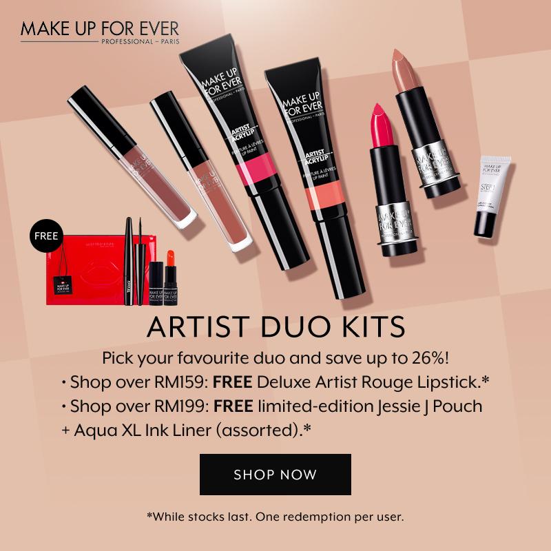 Make Up For Ever Artist Franchise Duo Kit