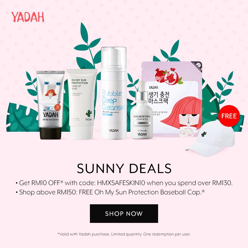 Nov 2018: Yadah Sunscreen Rewards