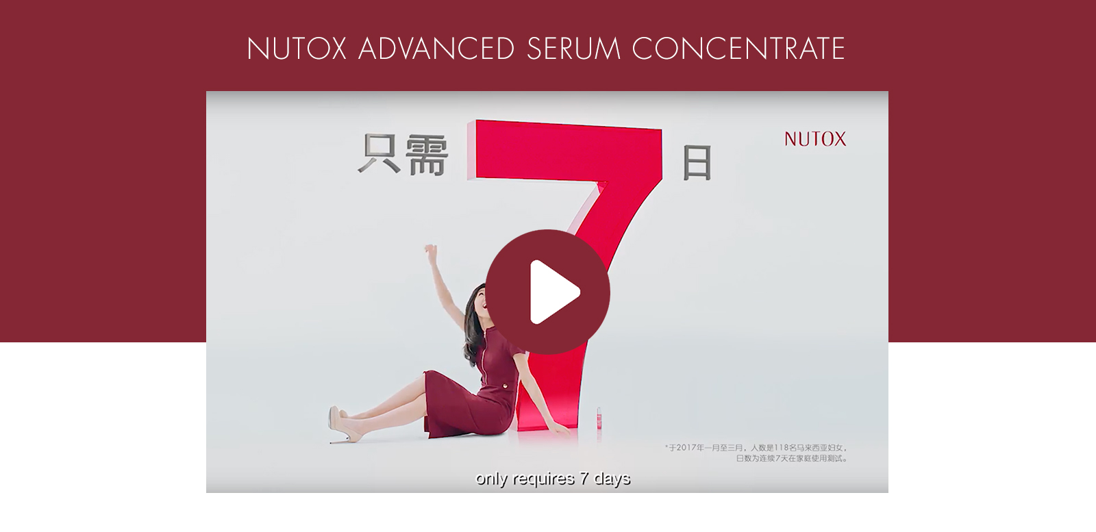Nutox Advanced Serum Concentrate