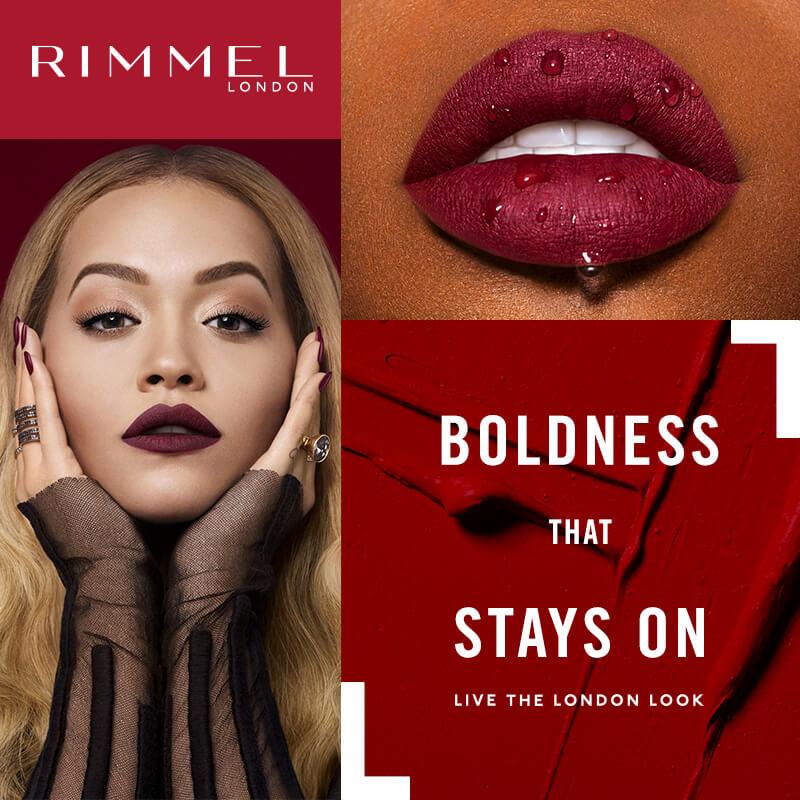 Rimmel Flagship Top Banner