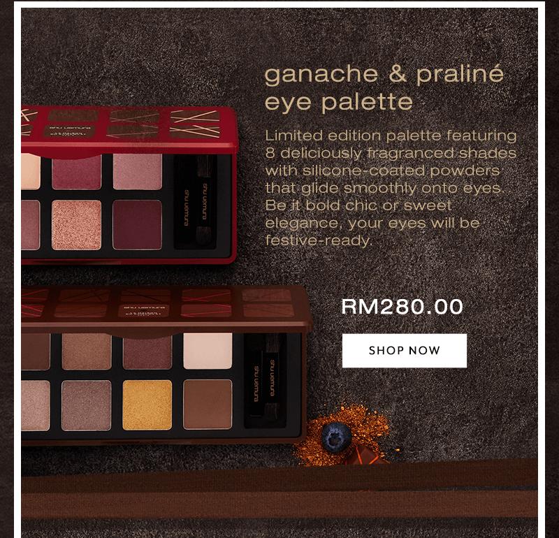 Shu uemura x La Maison Du Chocolat Edition Eyeshadow Palette