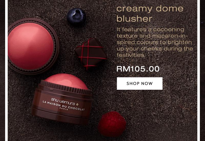 Shu uemura x La Maison Du Chocolat Edition Creamy Blusher