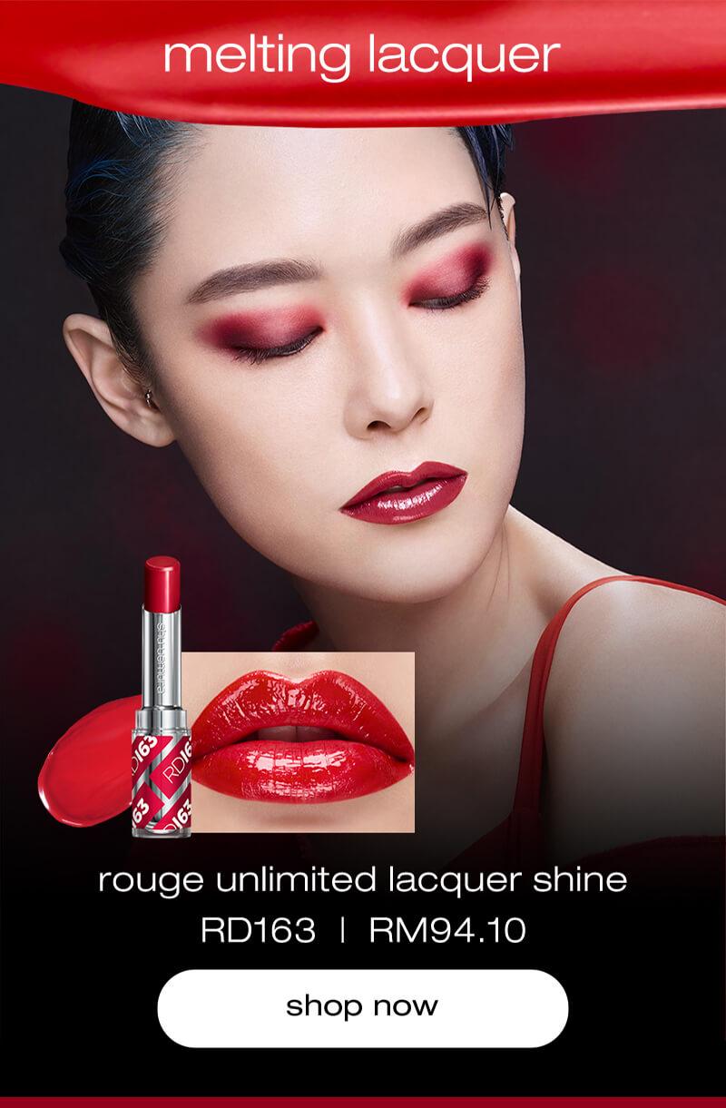 Shu uemura REDS #RD163 Lacquer Shine