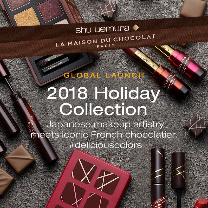 Shu uemura x La Maison Du Chocolat Holiday Collection 2018