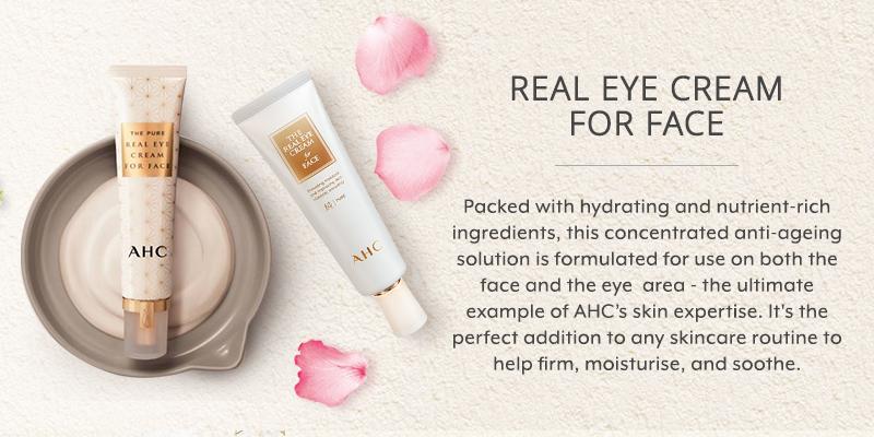 AHC Eye Cream For Face Banner