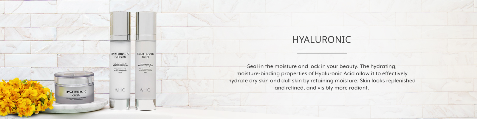 AHC Hyaluronic Banner