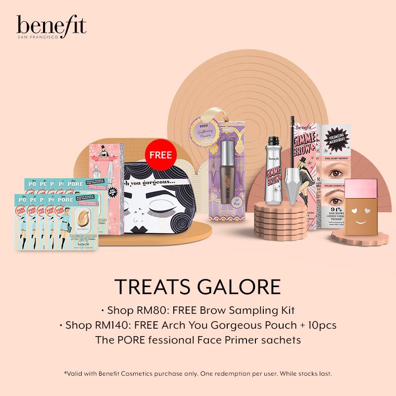 Apr 2019: Benefit Cosmetics