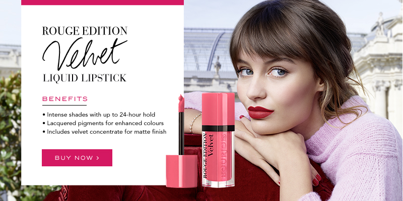 Bourjois Rouge Edition Velvet Liquid Lipstick