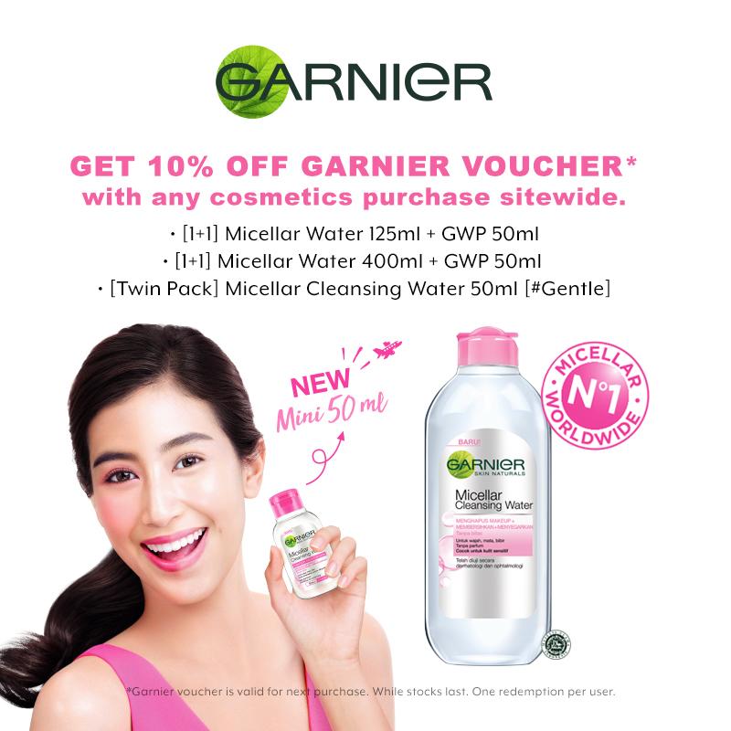 Feb 2019: Garnier