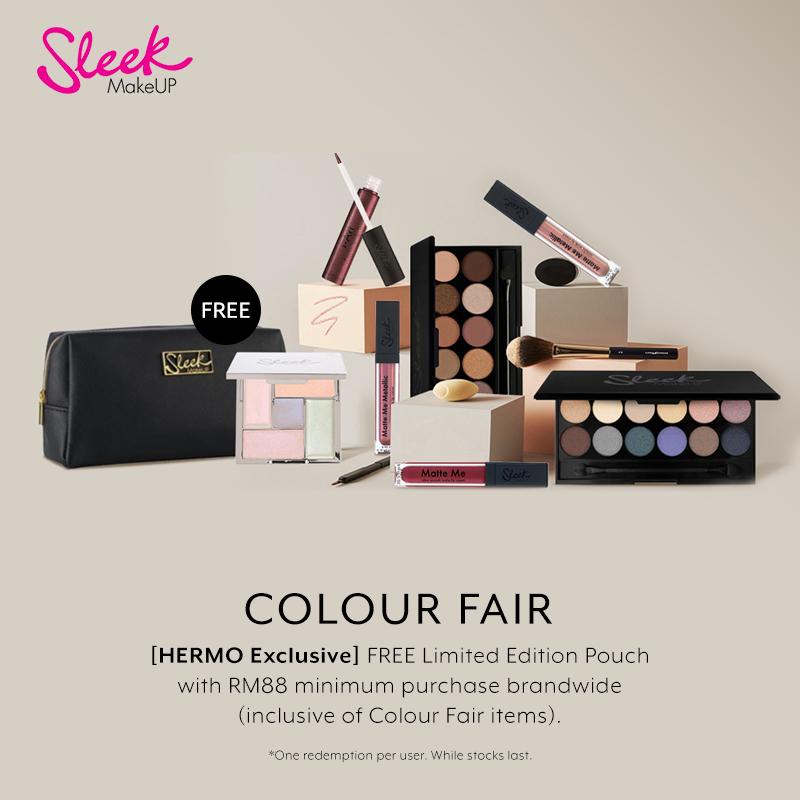 Feb 2019: Sleek MakeUP