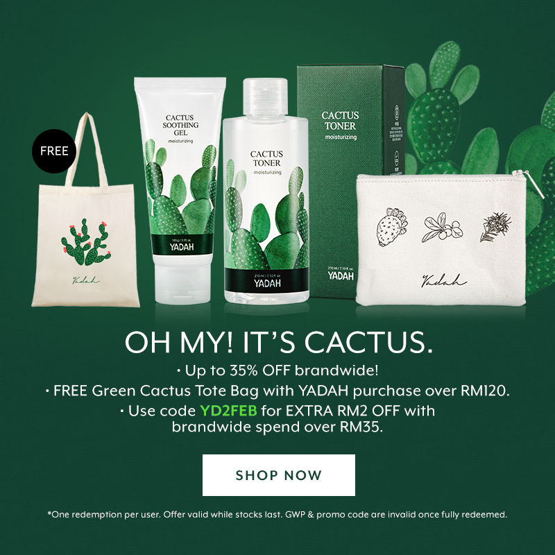 Feb 2019: Yadah Oh My It's Cactus