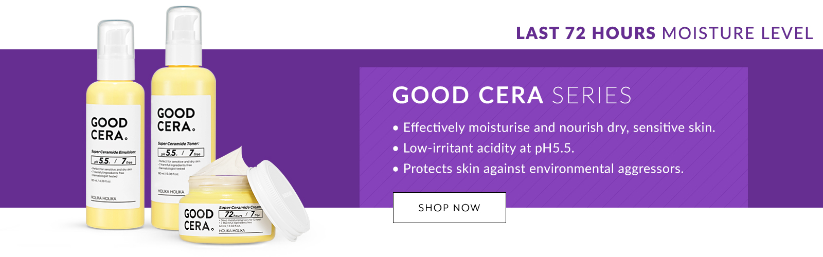 Holika Flagship Highlight Good Cera Dry Skin