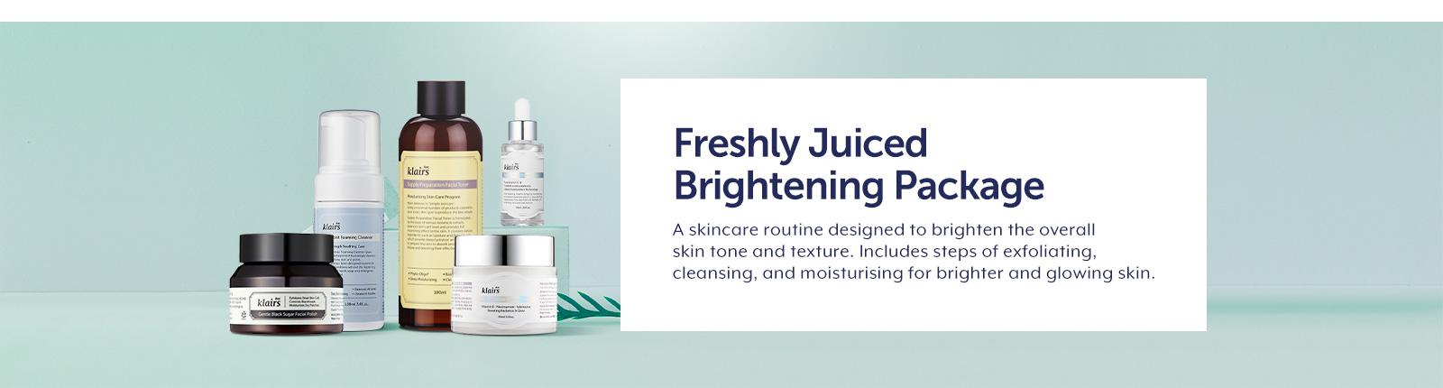 Klairs Freshly Juiced Brightening Package