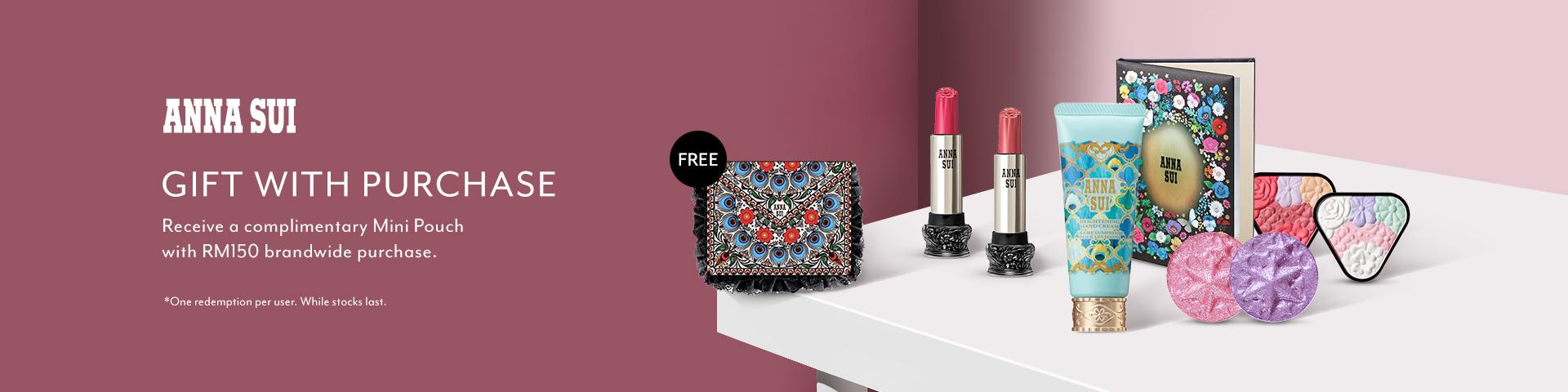 Mar 2019: Anna Sui Cosmetics
