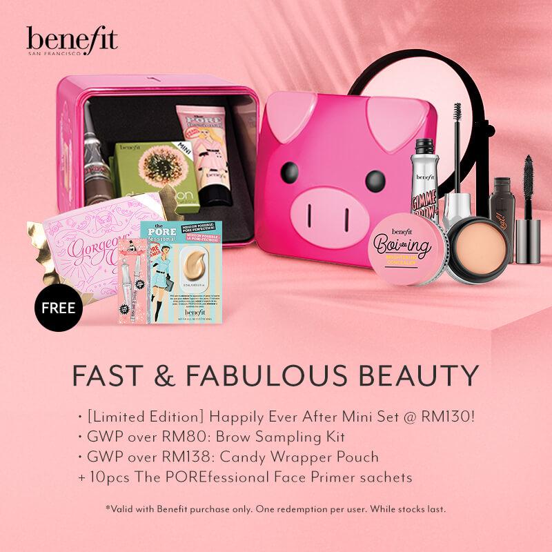 Mar 2019: Benefit Cosmetics