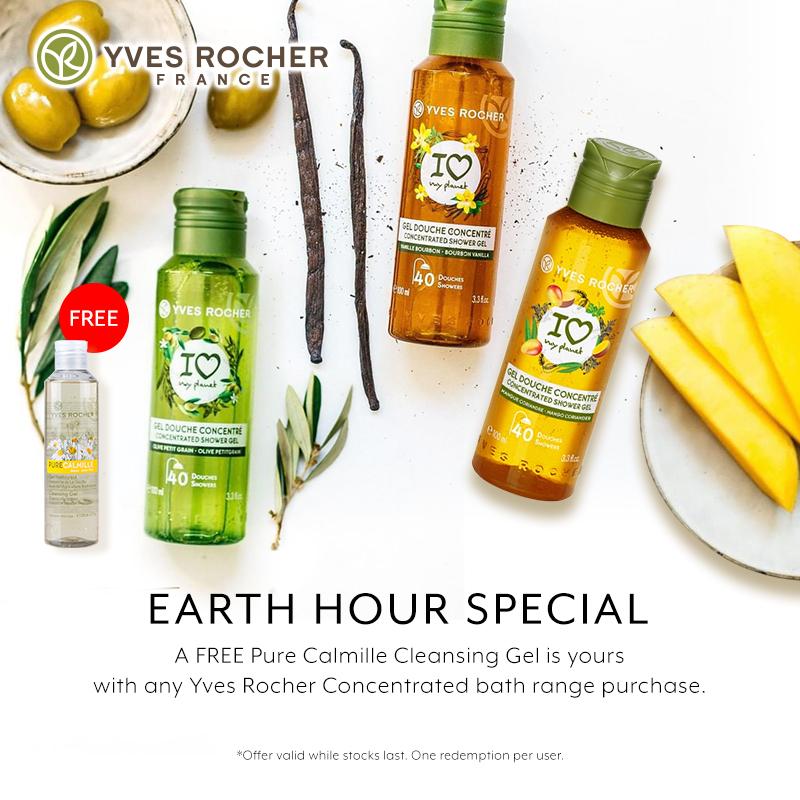 Mar 2019: Yves Rocher Earth Hour