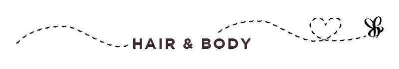 Melvita Hair & Body Title