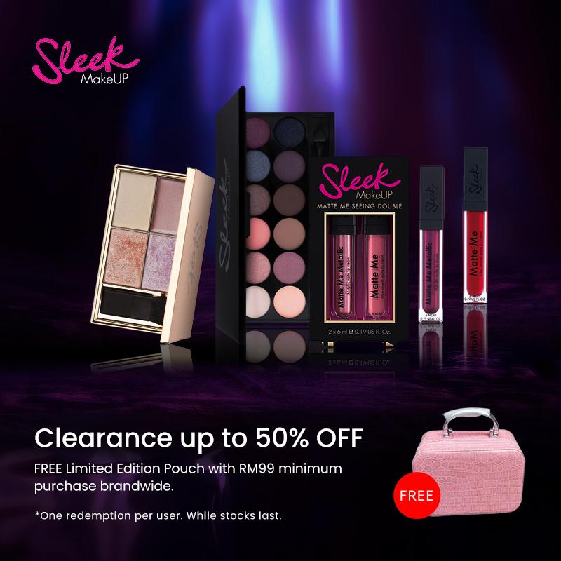 Oct 2019: Sleek MakeUP