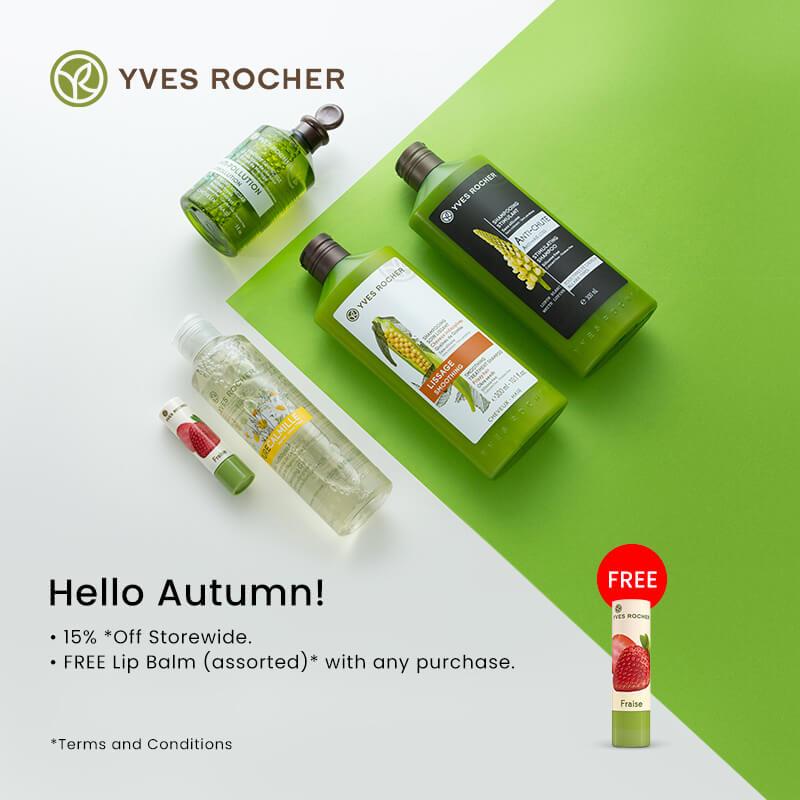 Oct 2019: Yves Rocher