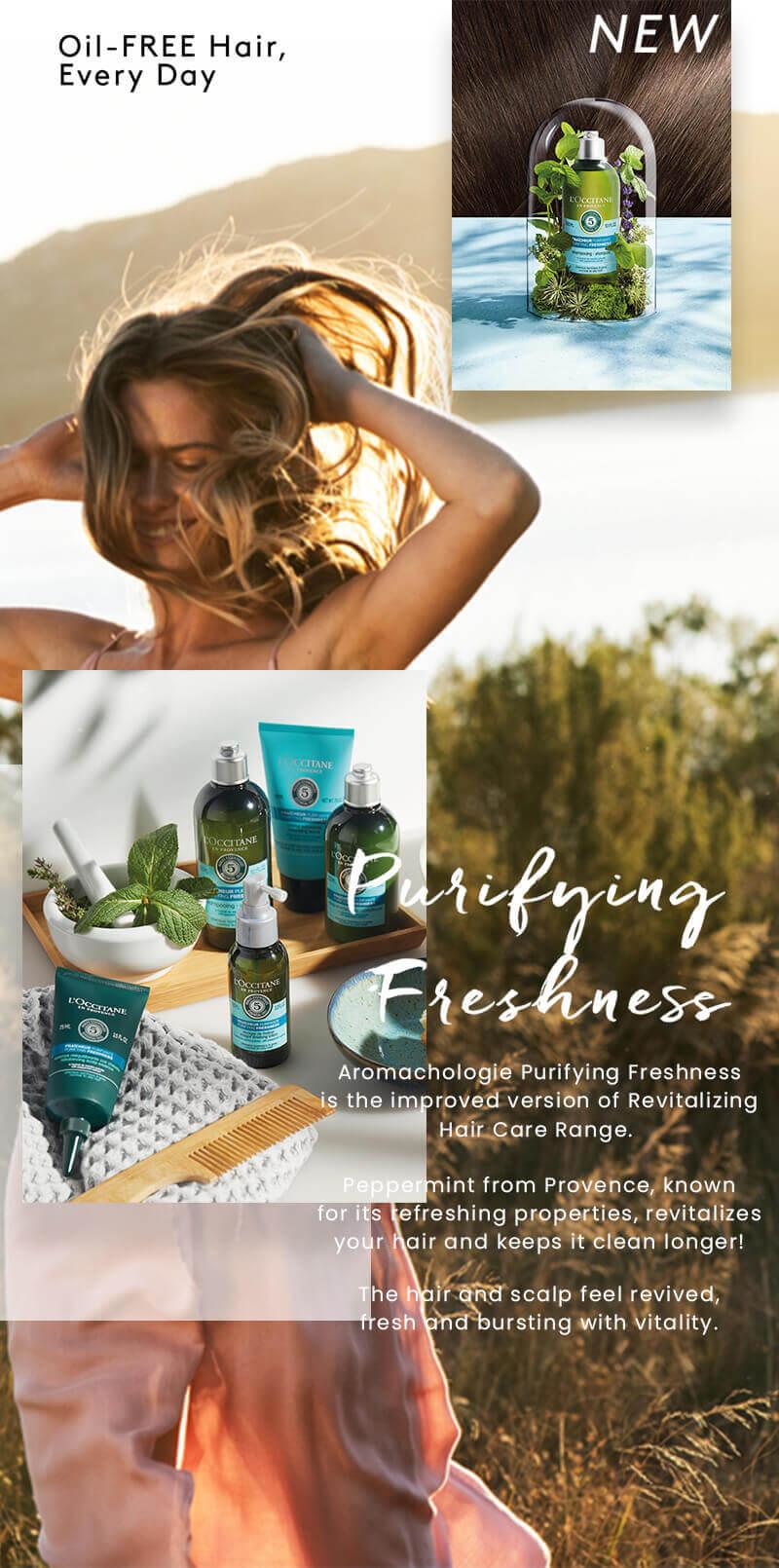 Purifying Freshness