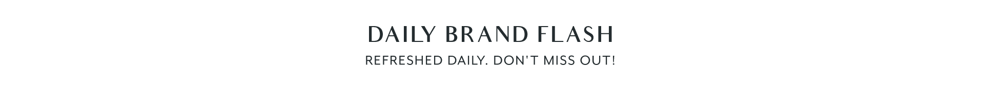 Raya - Daily Brand Flash - Title Banner