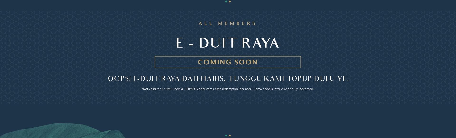 Raya - E-Duit Raya - Stand In Banner