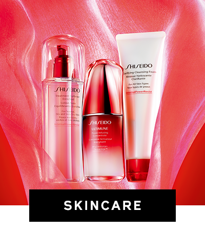shiseido flagship 2019: categories-skincare