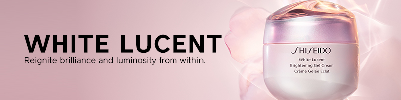 shiseido flagship 2019: white lucent