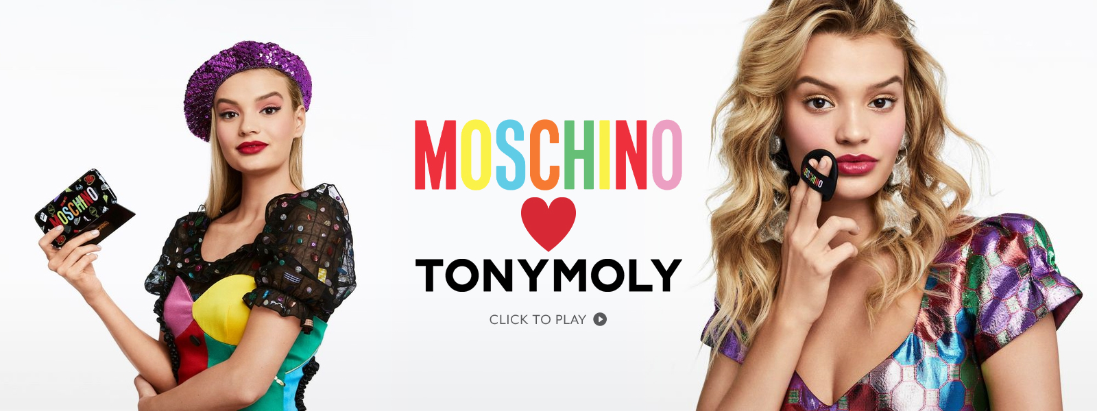 Tony Moly: Moschino Collaboration Banner