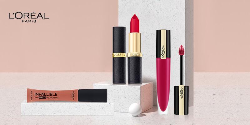 30% Off Lipsticks