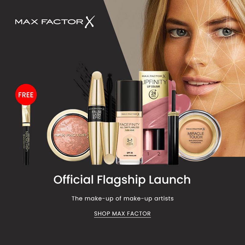 Aug 2019: Max Factor