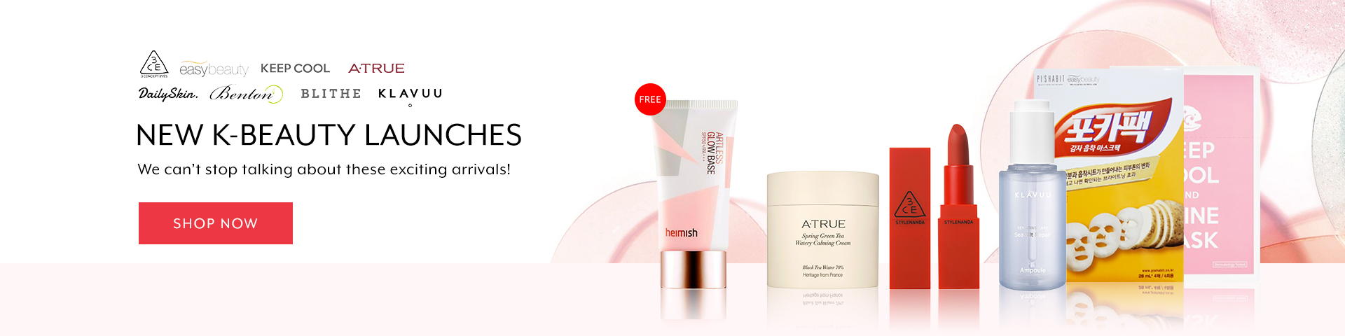 Feb 2019: Hottest K-Beauty New Arrival (HG)