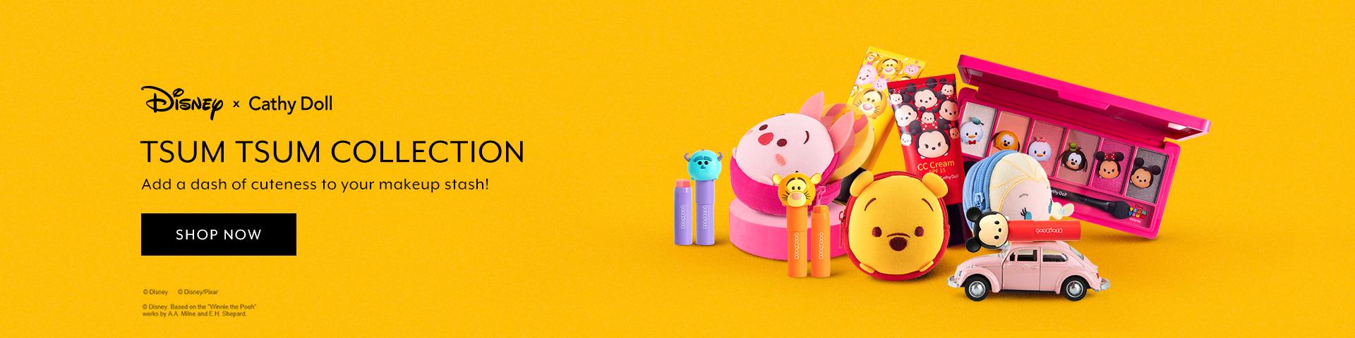Jan 2019: Cathy Doll x Tsum Tsum