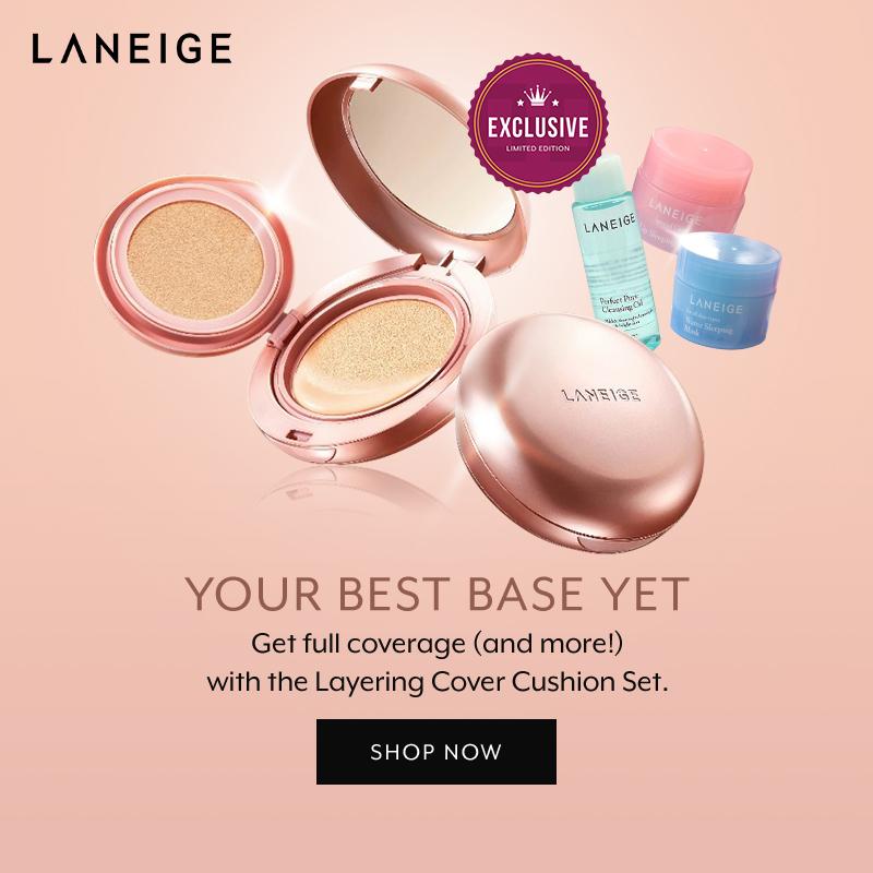 July 2018: Laneige