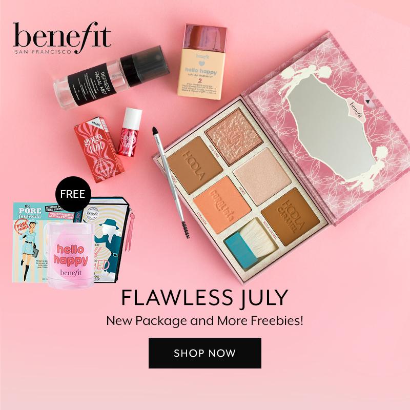 July 2019: Benefit Cosmetics
