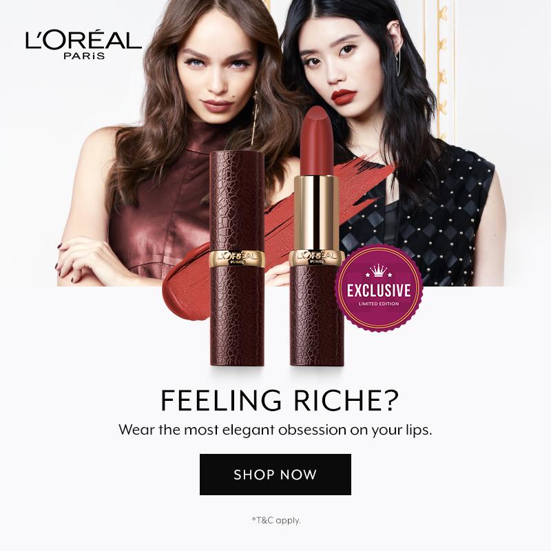 L'Oreal Paris Luxe Leather Color Riche Lipstick Launch