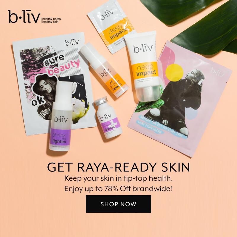 May 2019: B.liv (raya 4 days brand flash)