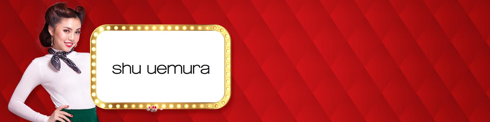 Shu Uemura promo