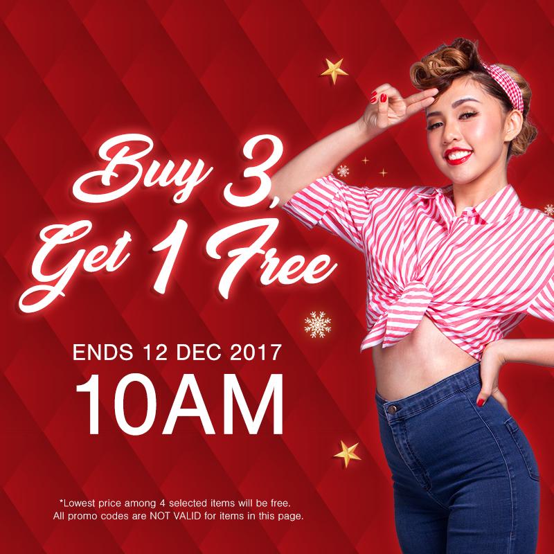Beauty Clearance Buy 3 Free 1